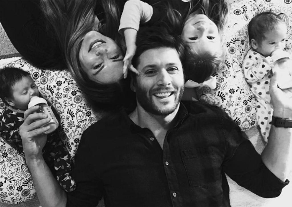 Jensen Ackles, Danneel Harris, Babies