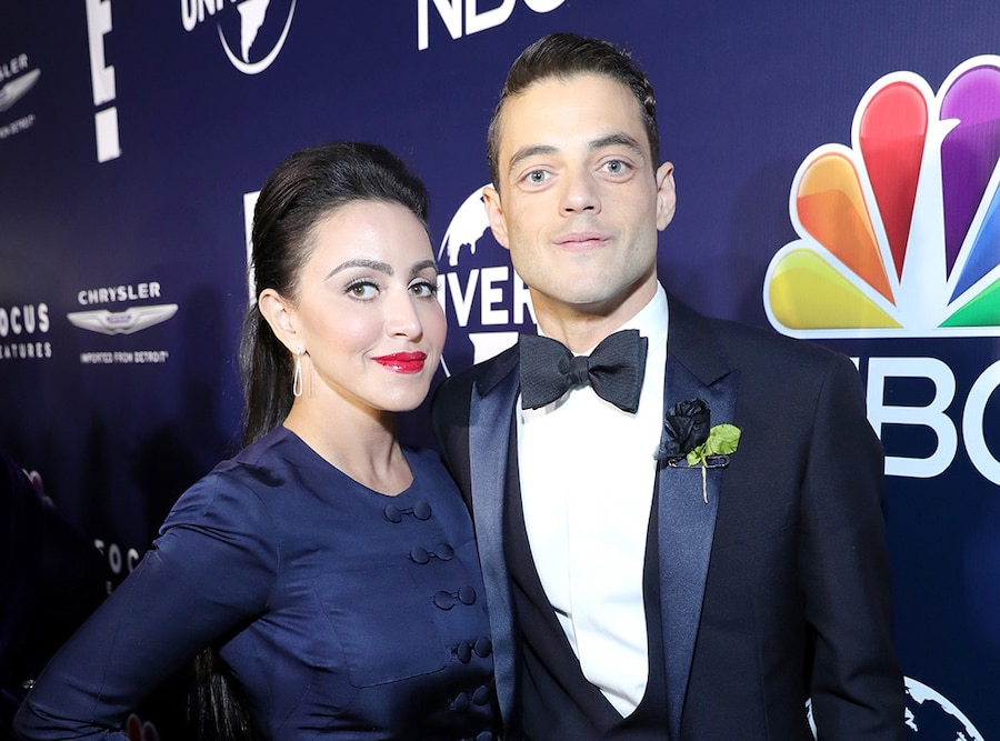 Rami Malek, Sister Jasmine Malek, 2017 Golden Globe After-Party