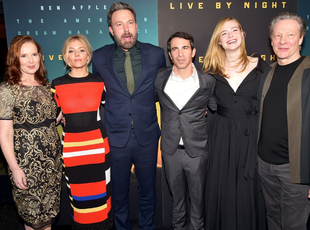 Jennifer Todd, Sienna Miller Ben Affleck, Chris Messina, Elle Fanning, Chris Cooper
