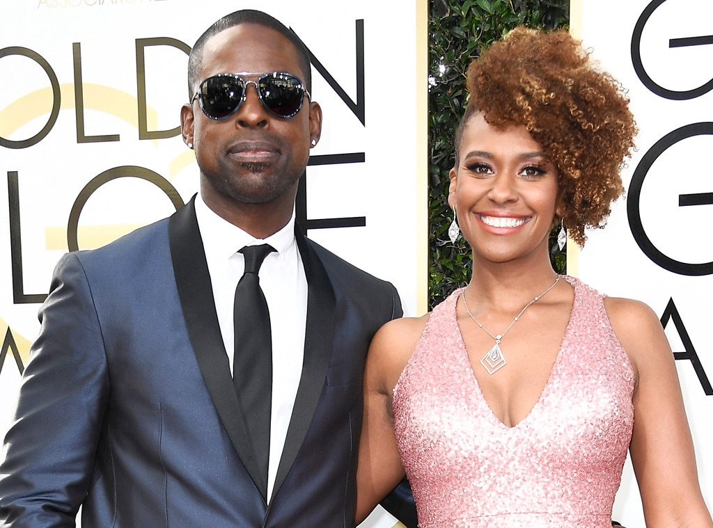 Sterling K Brown, Ryan Michelle Bathe, 2017 Golden Globes, Couples