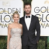 Chris Hemsworth, Elsa Pataky, 2017 Golden Globes, Couples