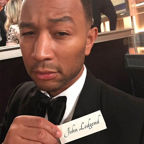 John Legend, Golden Globe Awards 2017, Typo