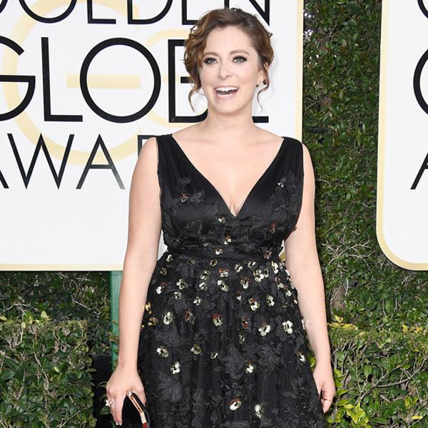 Rachel Bloom Brought Her <i>Crazy Ex-Girlfriend</i> Costars to the Golden Globes in a Unique Way