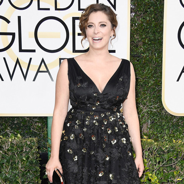 Rachel Bloom, 2017 Golden Globes, Arrivals