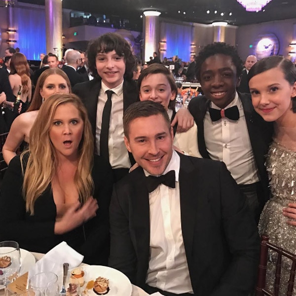 Stranger Things, Amy Schumer, Golden Globes