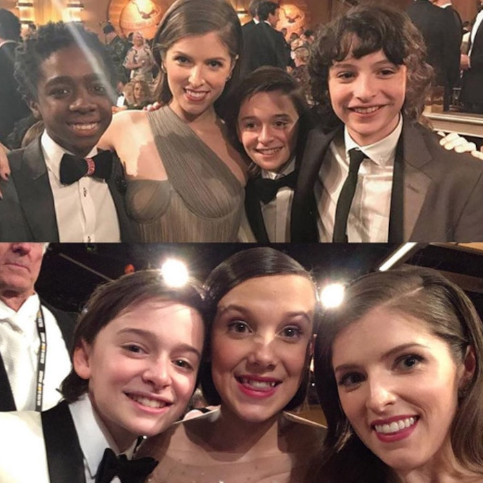 Stranger Things, Anna Kendrick, Golden Globes
