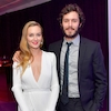 Leighton Meester, Adam Brody, 2017 Golden Globes After-Party