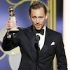 Tom Hiddleston, 2017 Golden Globes, Winners