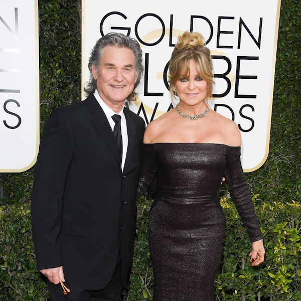 Kurt Russell & Goldie Hawn from 2017 Golden Globes Red ...
