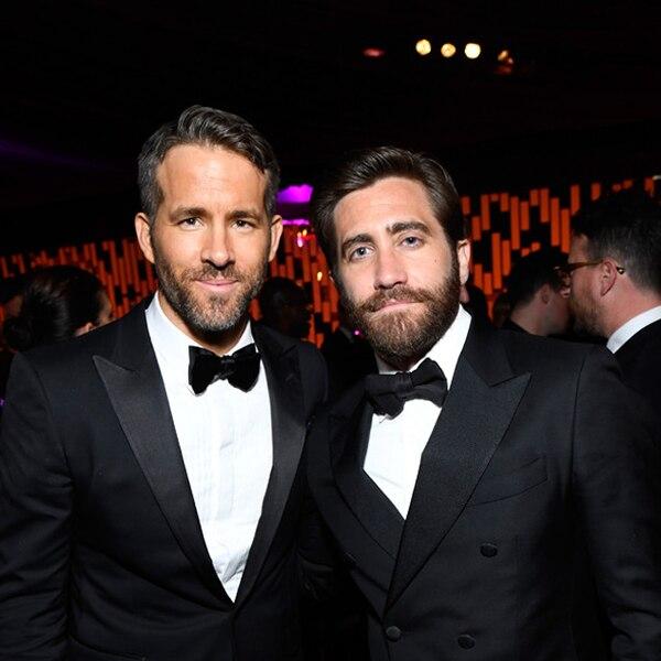 Ryan Reynolds & Jake Gyllenhaal from Golden Globes 2017 ...
