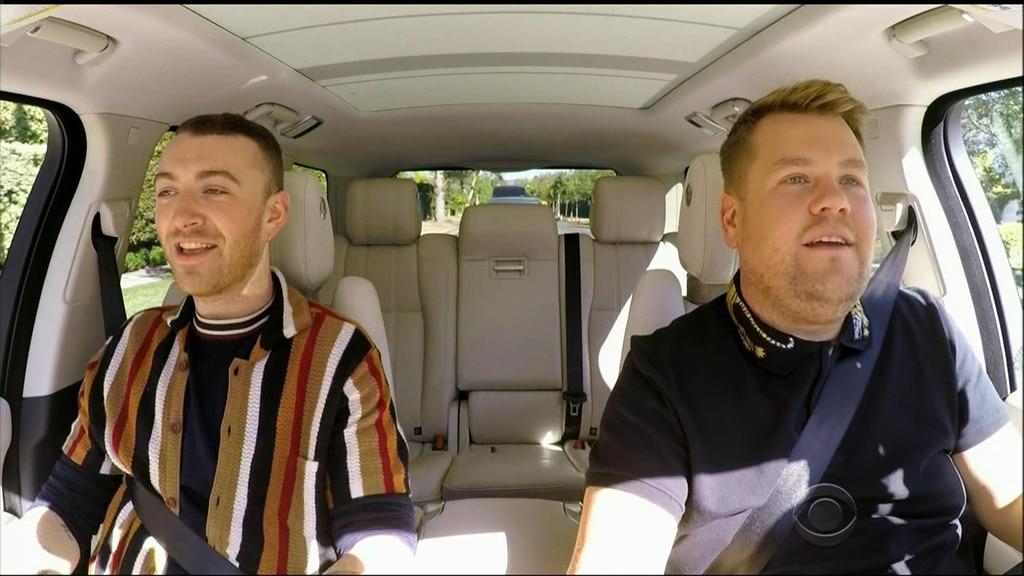Carpool Karaoke, Sam Smith