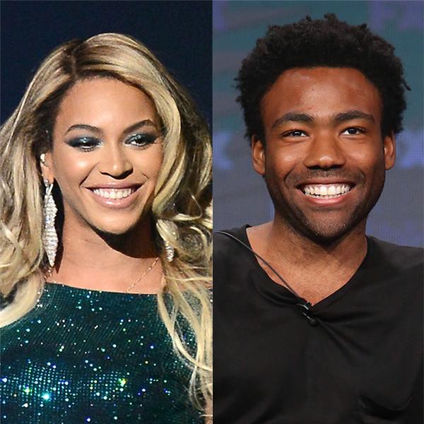 Donald Glover, Beyonce, Seth Rogen