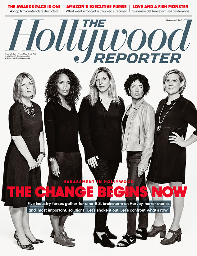 The Hollywood Reporter, Cover, November 1, 2017