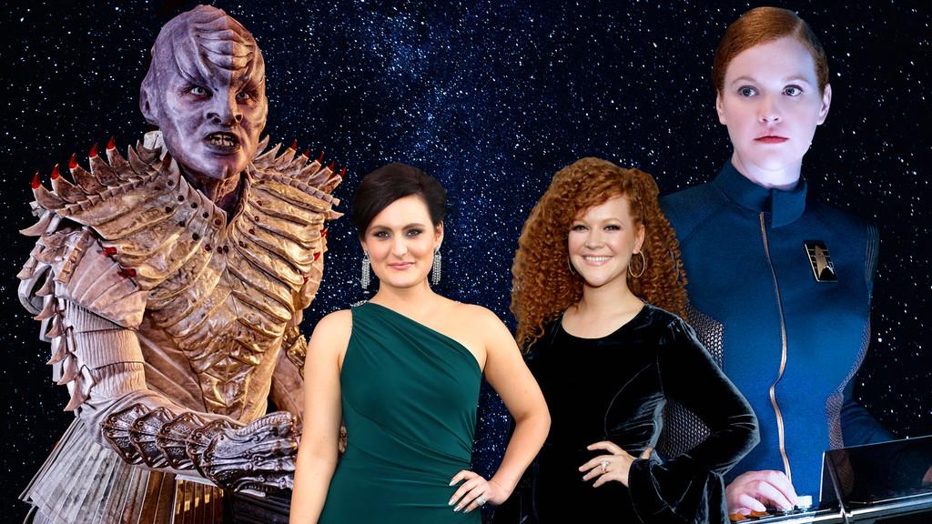 Mary Wiseman, Mary Chieffo, Star Trek Discovery