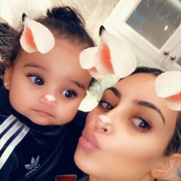 Dream Kardashian 1st Birthday, Kim Kardashian