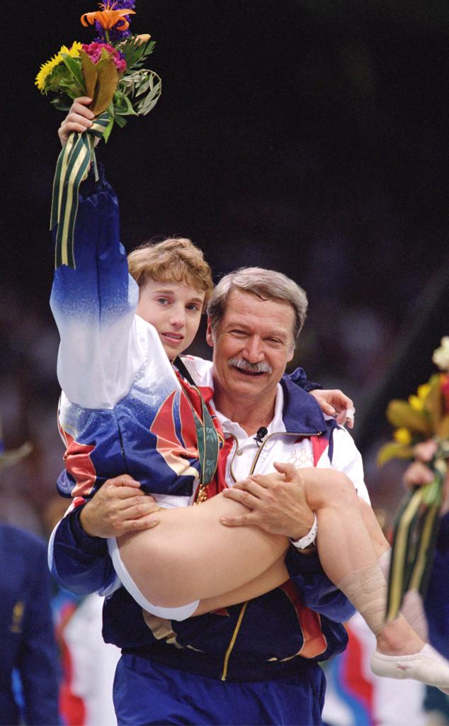 Bela Karolyi, Kerri Strug, 1996 Olympics, Atlanta
