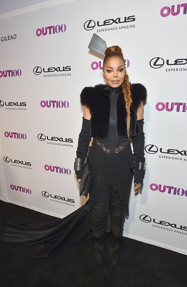 Janet Jackson, 2017 OUT100 Gala