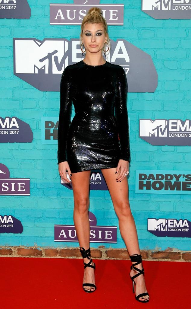MTV EMAs 2017, Hailey Baldwin