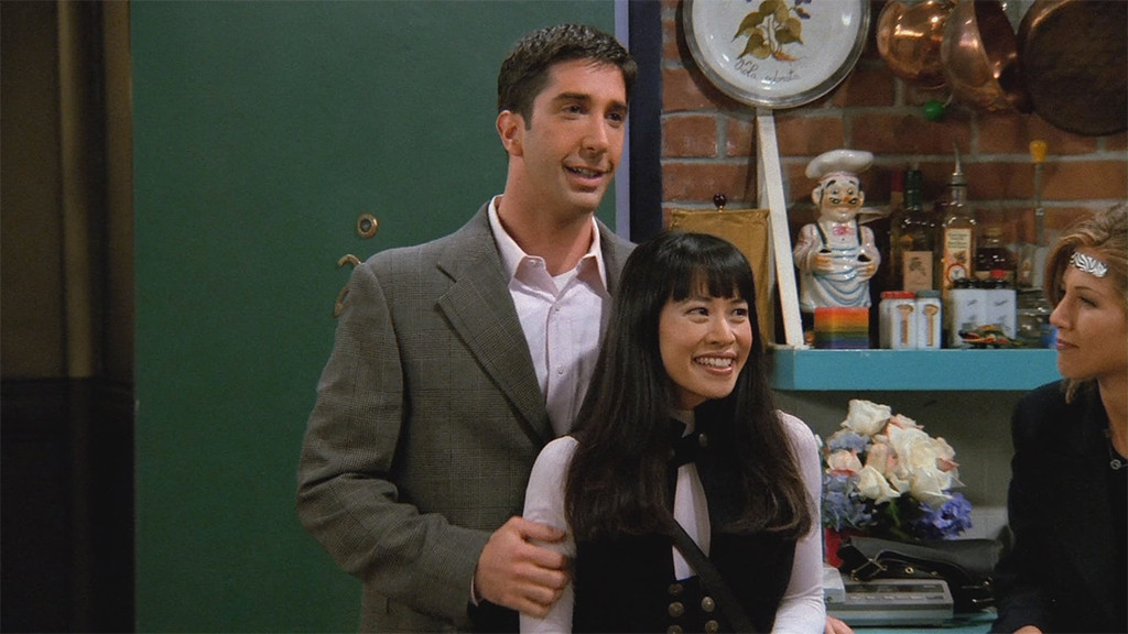 David Schwimmer, Lauren Tom, Ross, Julie, Friends