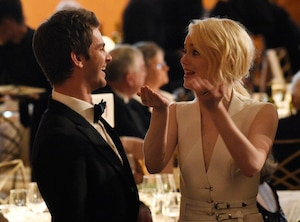 2017 Governors Awards, Andrew Garfield, Emma Stone