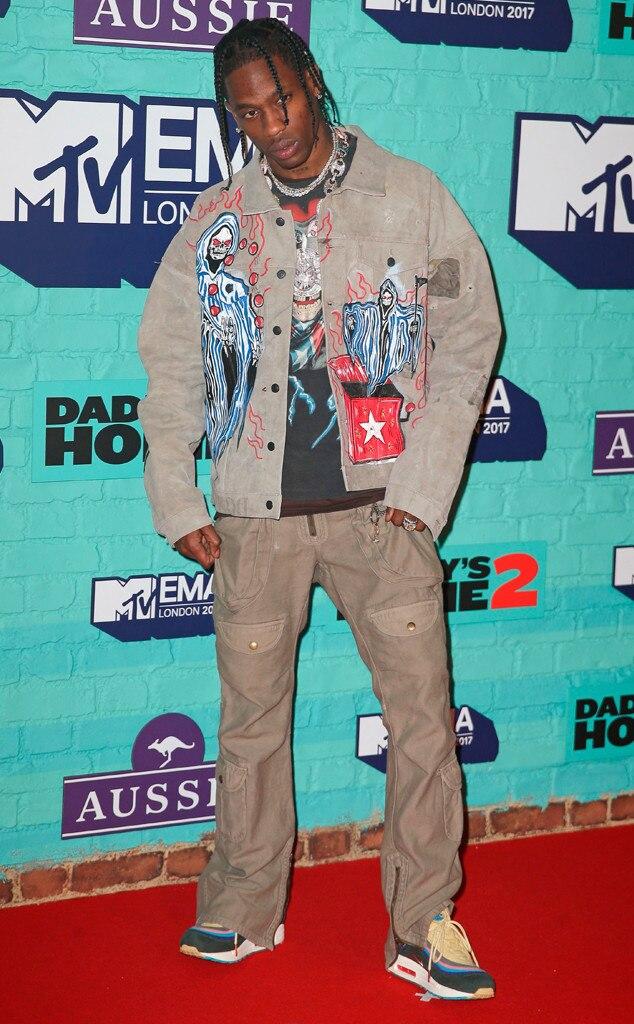 Travis Scott, MTV EMAs 2017