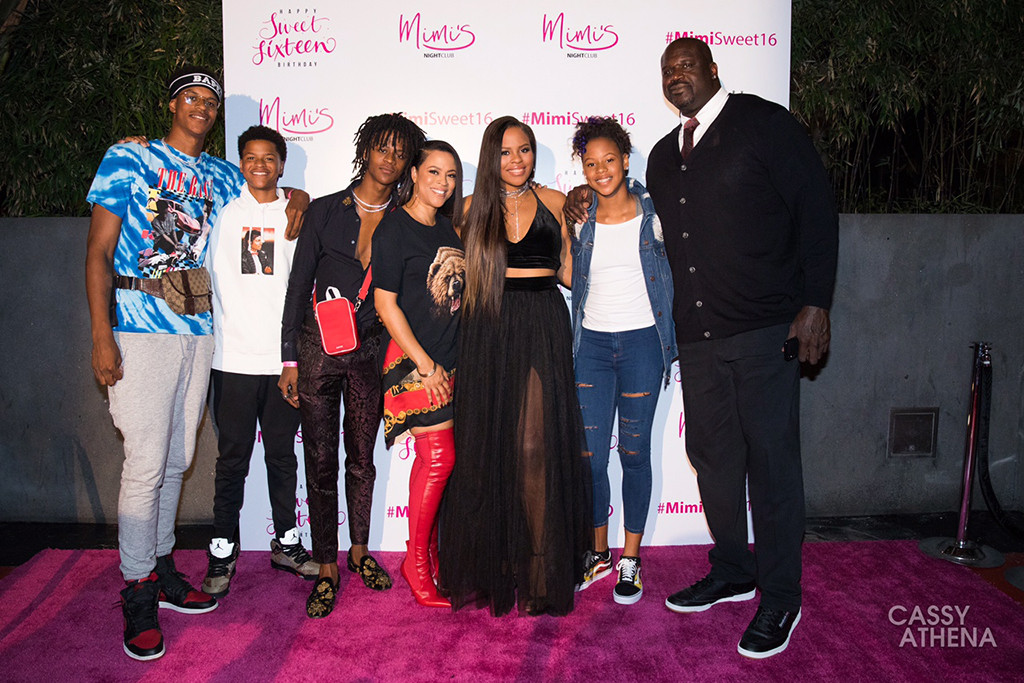inside shaquille oneals daughters lavish super sweet 16