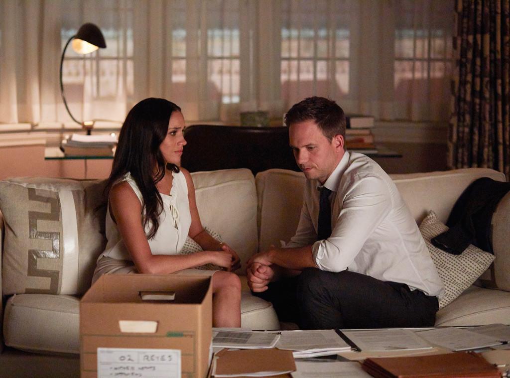 Suits Season 7, Meghan Markle, Patrick J. Adams
