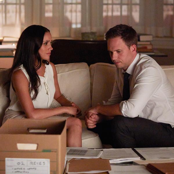 Meghan Markle & Patrick J. Adams Might Be Saying Goodbye to <i>Suits</i> Before Season 8
