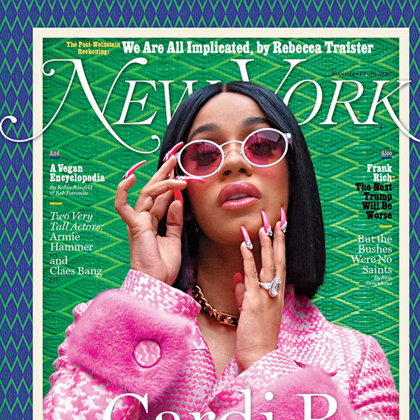 Cardi B, New York Magazine