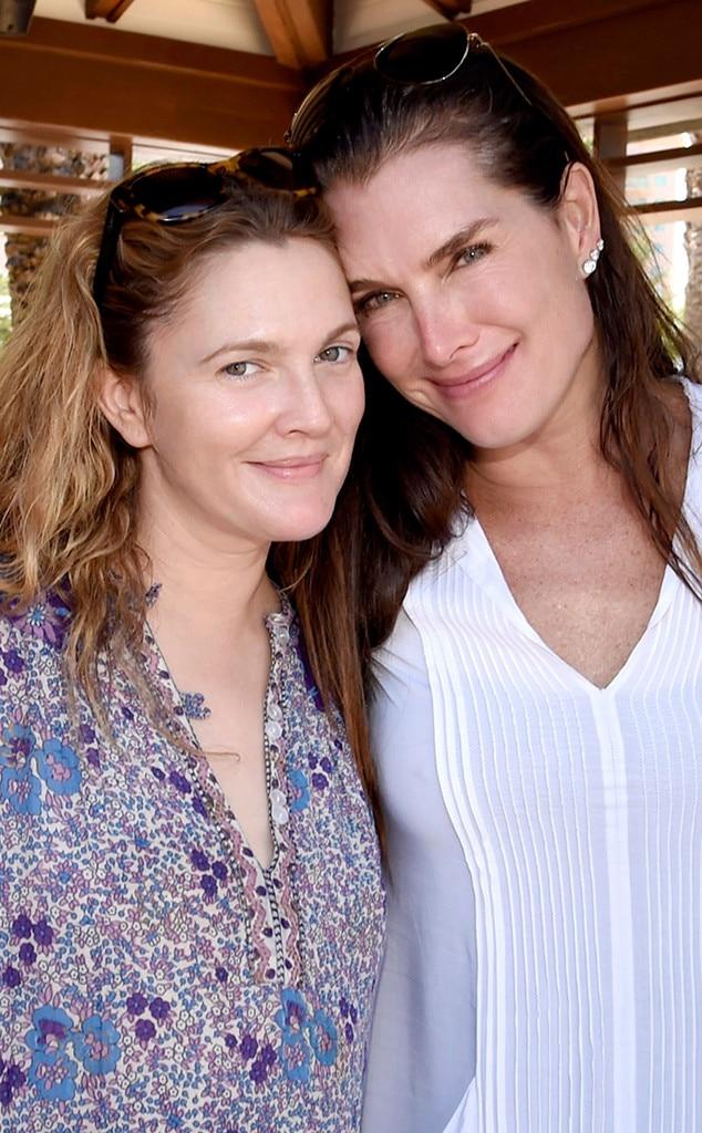 Drew Barrymore, Brooke Shields
