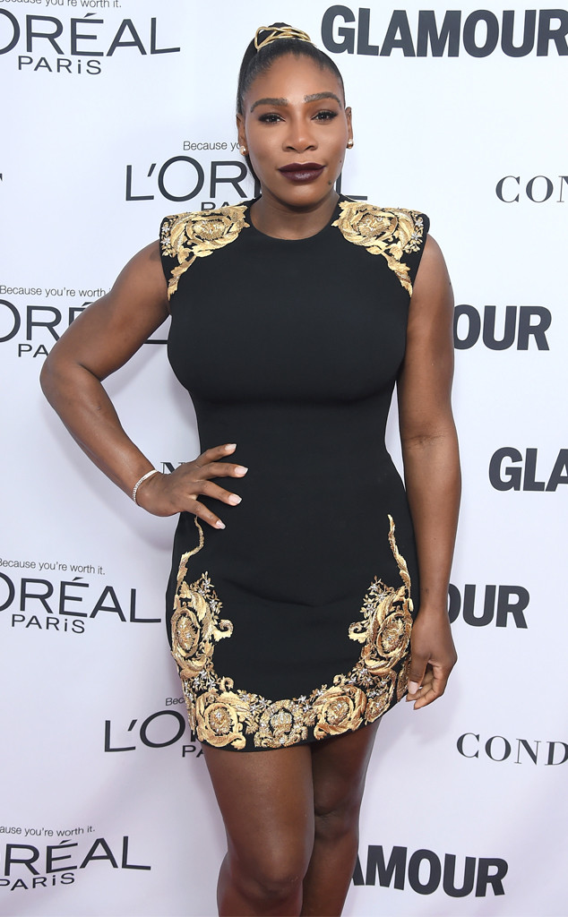 Serena Williams, Glamour 2017 Women of The Year Awards