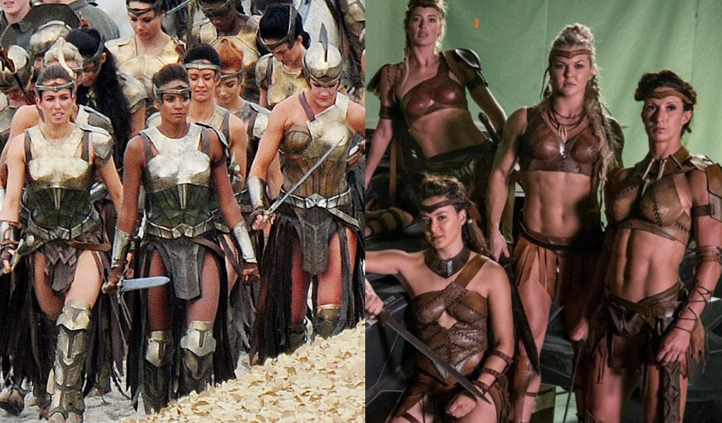 Amazonians, Wonder Woman, Justice League