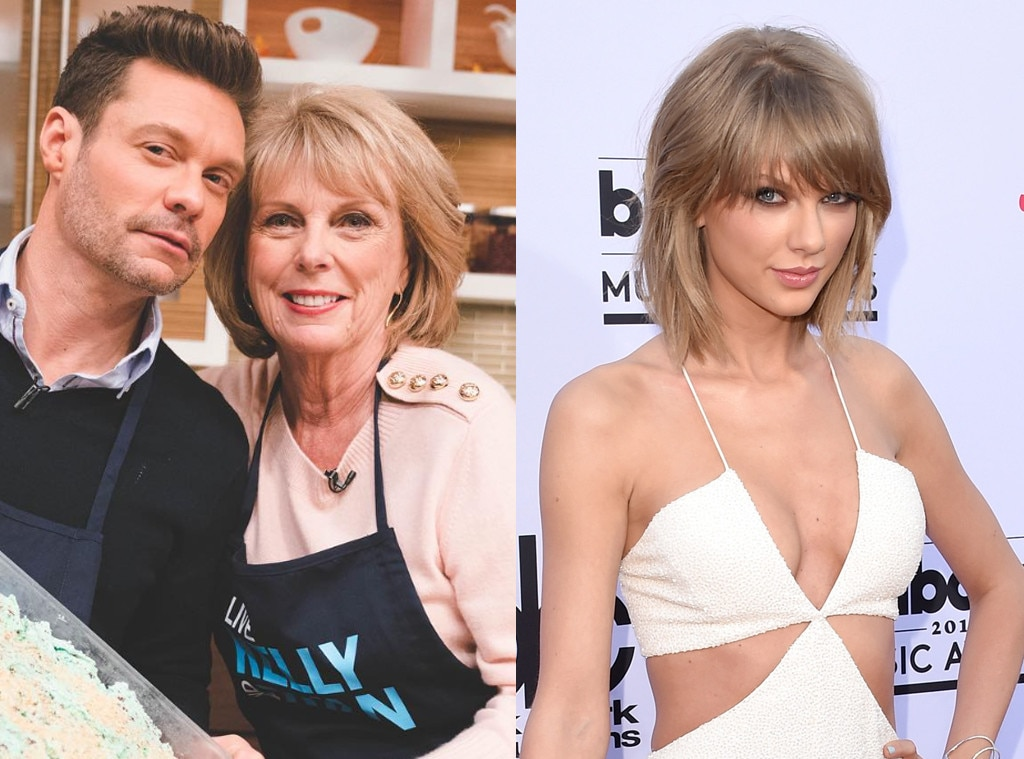 Ryan Seacrest, Mom, Taylor Swift
