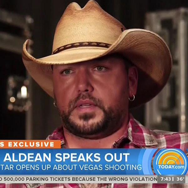 Jason Aldean, NBC, Interview