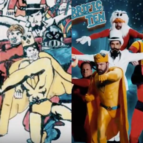 Ben Affleck, Jennifer Aniston, Matt Damon and More Stars Bring Jimmy Kimmel's Childhood Comic Book to Life