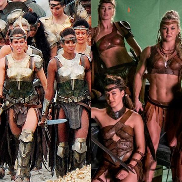 Amazonians, Wonder Woman, Justice League