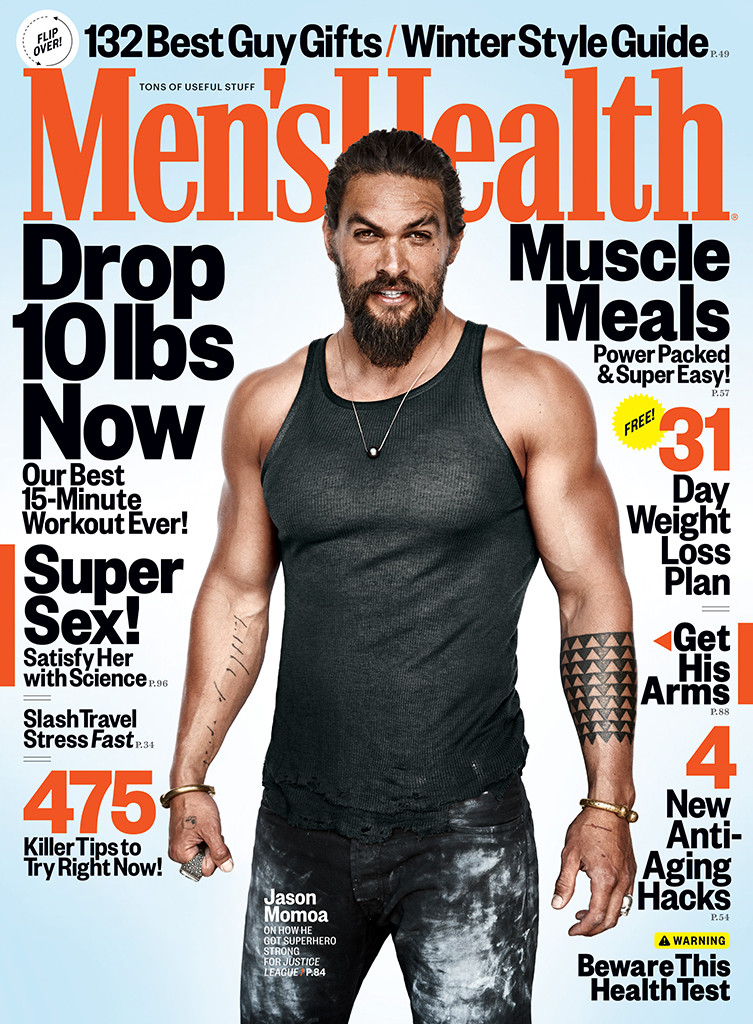 Jason Momoa, Men's Health Magazine