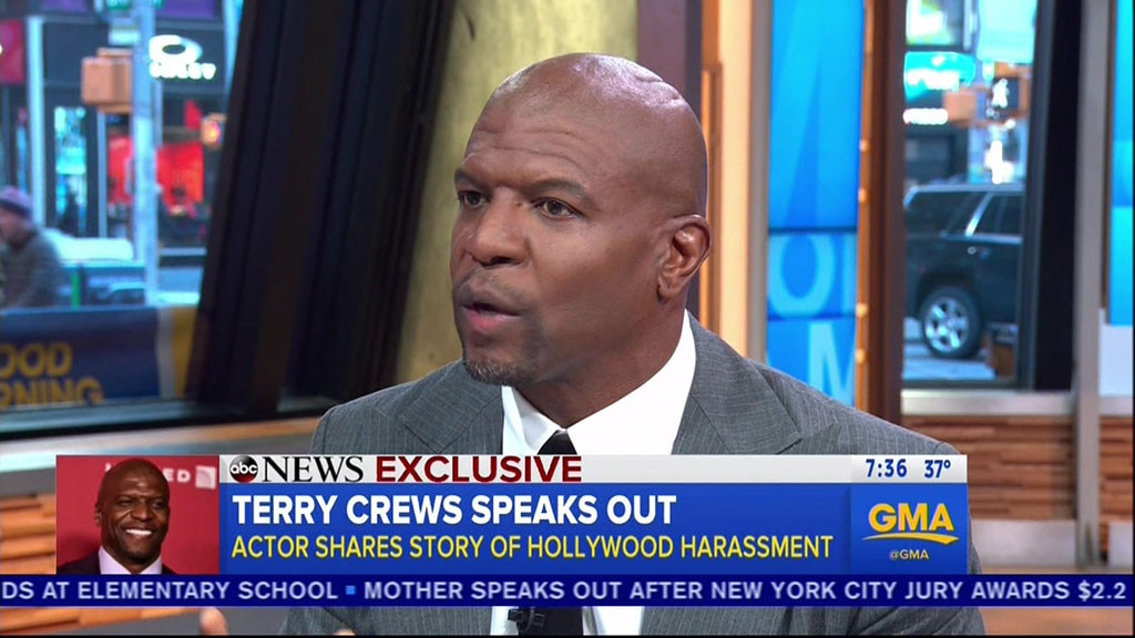 Terry Crews 'GMA' Interview: Actor Details Alleged Sexual Assault By Adam Venit