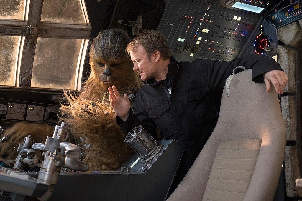Rian Johnson, Joonas Suotamo, Star Wars the Last Jedi