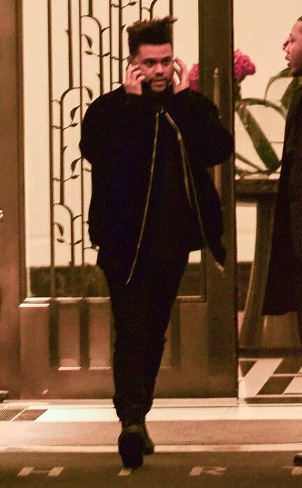 The Weeknd, Bella Hadid's Apartment
