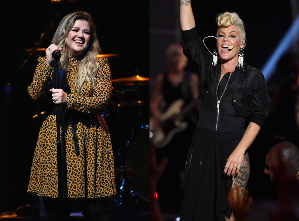 Pink, Kelly Clarkson Open 2017 AMAs With Emotional Duet