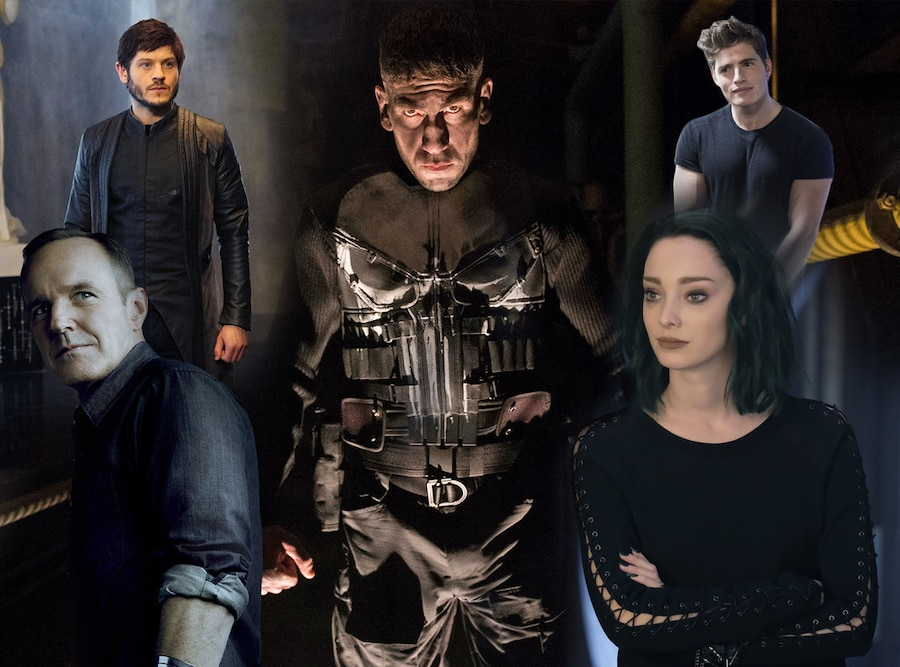 Marvel TV,  The Punisher, Inhumans, The Gifted, Agents of SHIELD, Runaways