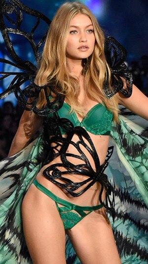 Gigi Hadid, Victoria's Secret Fashion Show Runway