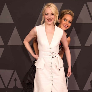 Jennifer Lawrence, Emma Stone