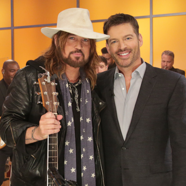Billy Ray Cyrus, Harry Connick Jr.