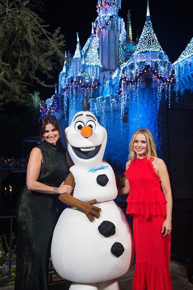 Idina Menzel, Kristen Bell, 2017 Stars Celebrate the Holidays