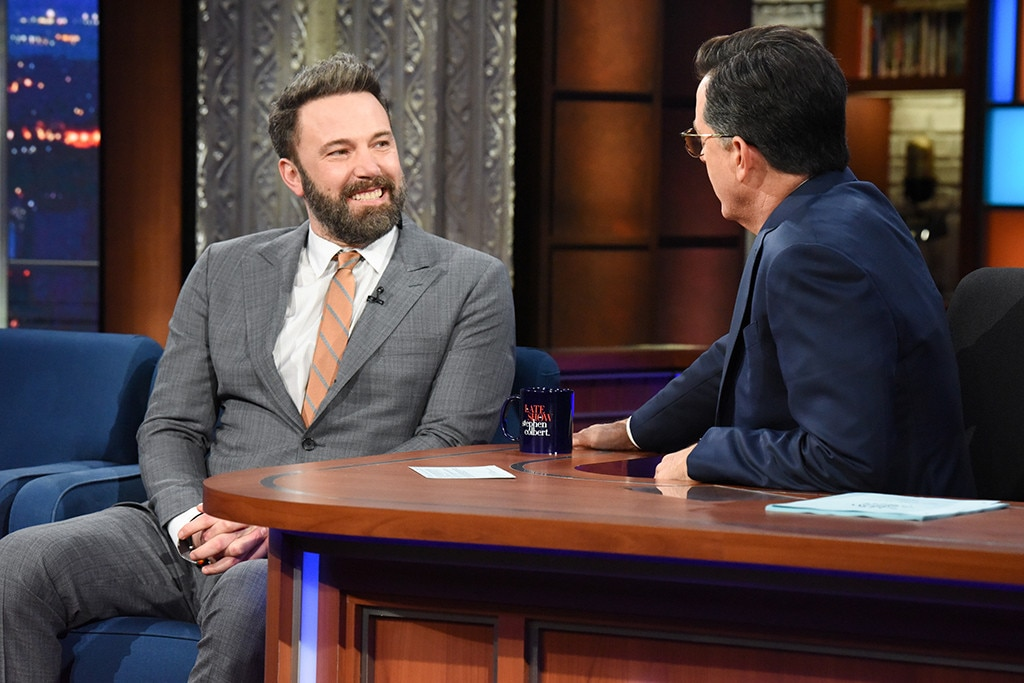 Ben Affleck, The Late Show With Stephen Colbert