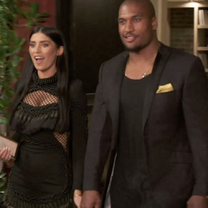 Nicole Williams, Larry English, WAGS L.A. 303