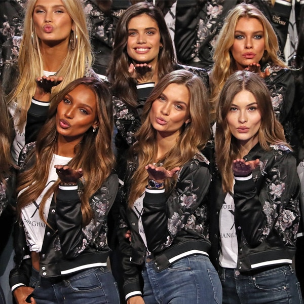 Victoria's Secret Fashion Show photocall