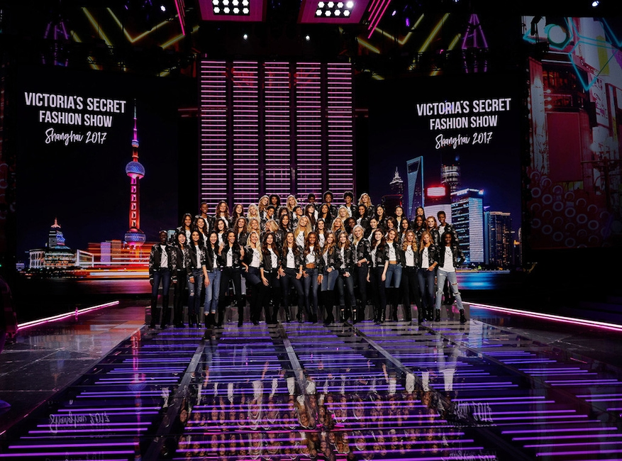 Victoria Secret Shanghai Fashion Show  Arena Time